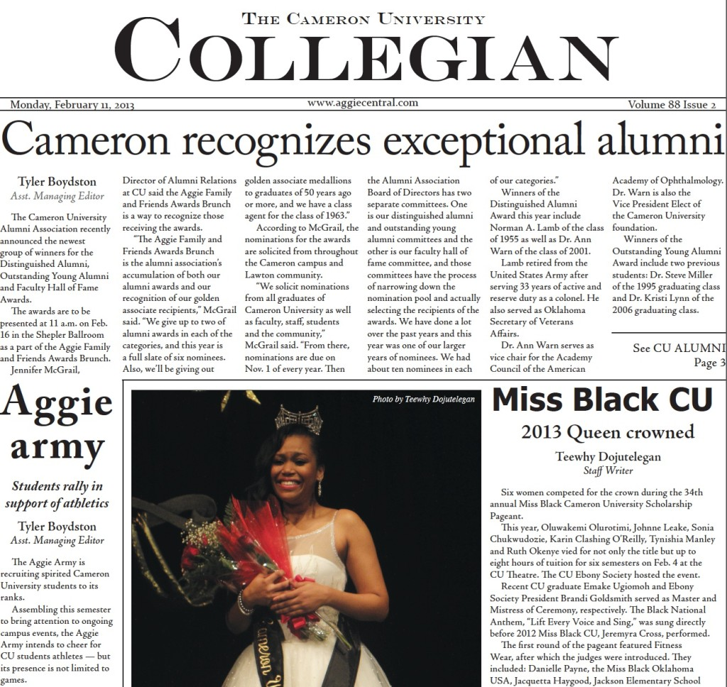 Collegian copy