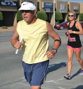 You can walk it; you can run it; you just have to make it: Lawtonians keep up the pace during 3Mile Thursday. Encouraging healthy living, the event takes place on the first Thursday of each month.
