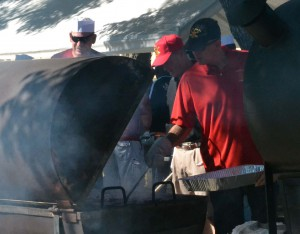 Smell What's Cooking: over 4,000 burgers and 3,200 patrons enjoyed the event.