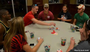 Keep the games going: CU students attended the PAC Game Night, played a game of UNO and enjoyed refreshments provided by PAC. The Game Night was held at 7 p.m. Sept. 25 in the MCC Ballroom.
