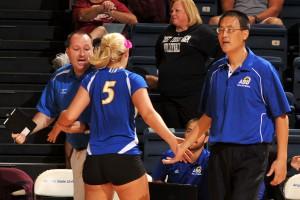 ASU Volleyball vs WTAMU 24Sept11 Kimberley Parker, Photographer