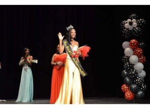 New Crowning: Second time contestant Oluwakemi Olurotimi, was named Miss Black CU 2014. The pageant took place at 7 p.m. Feb. 1 in the CU Theatre.