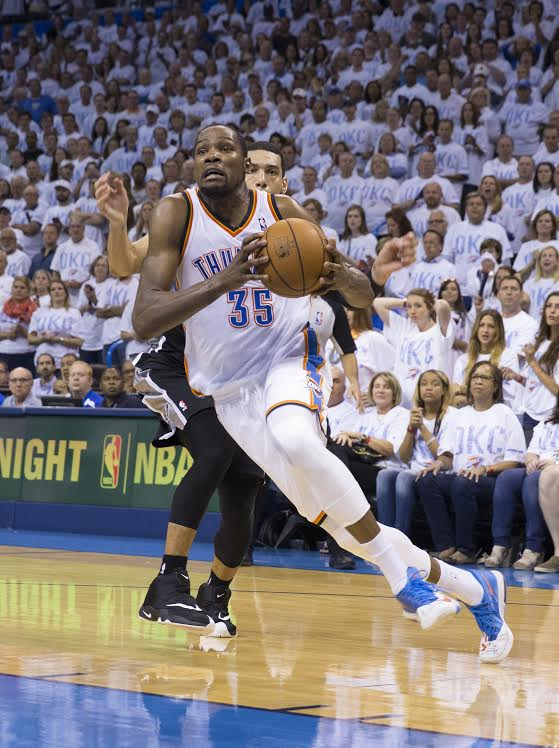 Kevin Durant Thunder Photo by Layne Murdoch:NBAE:Getty Images