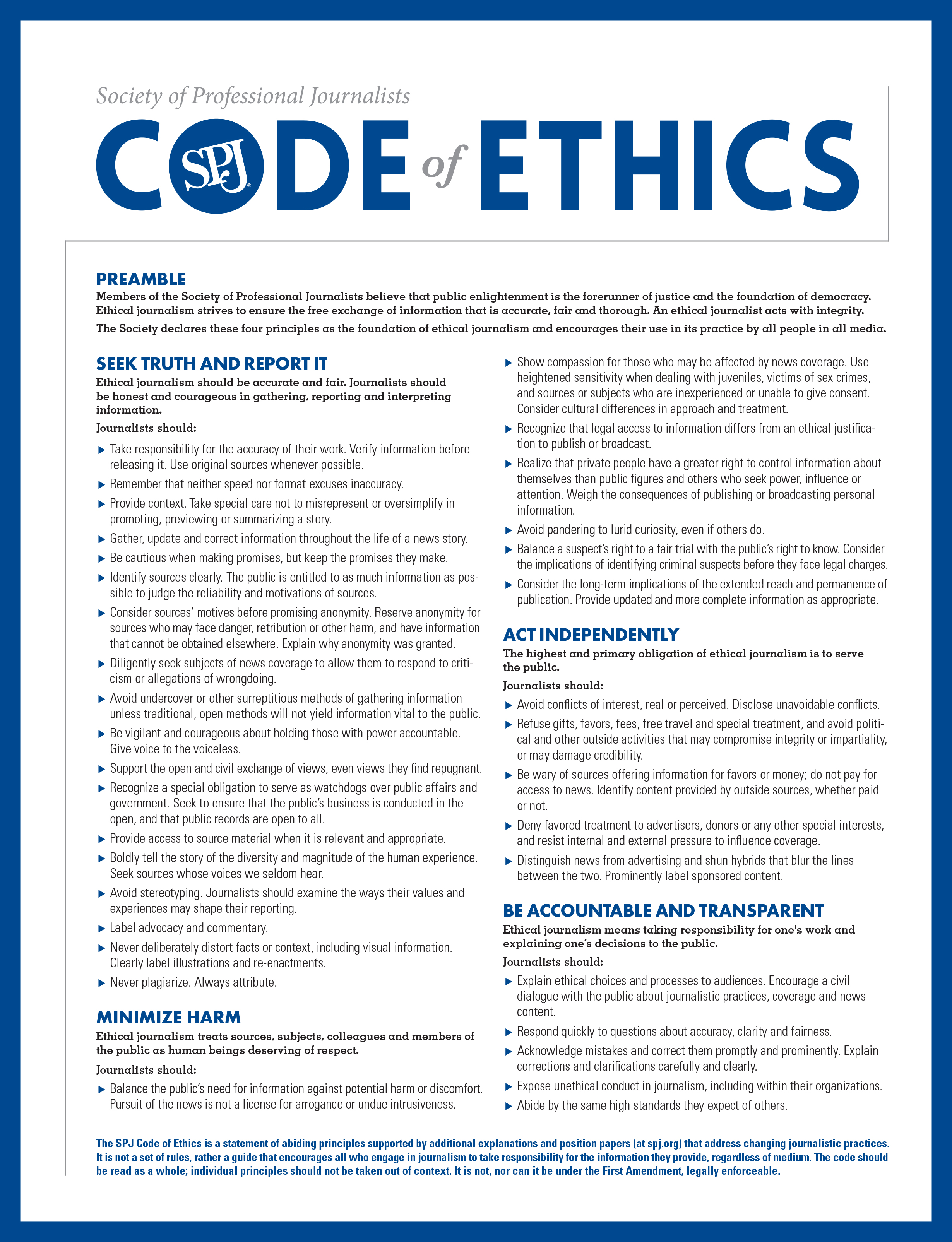 code of conduct essay Components of a code of conduct essay 1286 words | 6 pages introduction a code of conduct applies to all staff including employees, vendors and board members and.