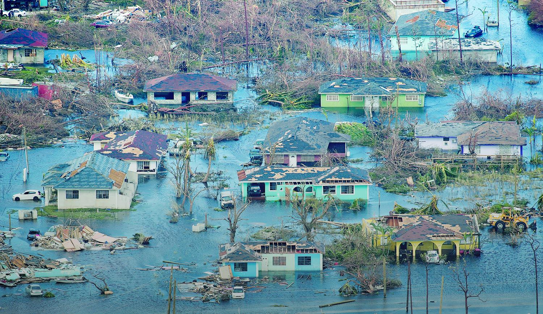 Hurricane Dorian Destruction