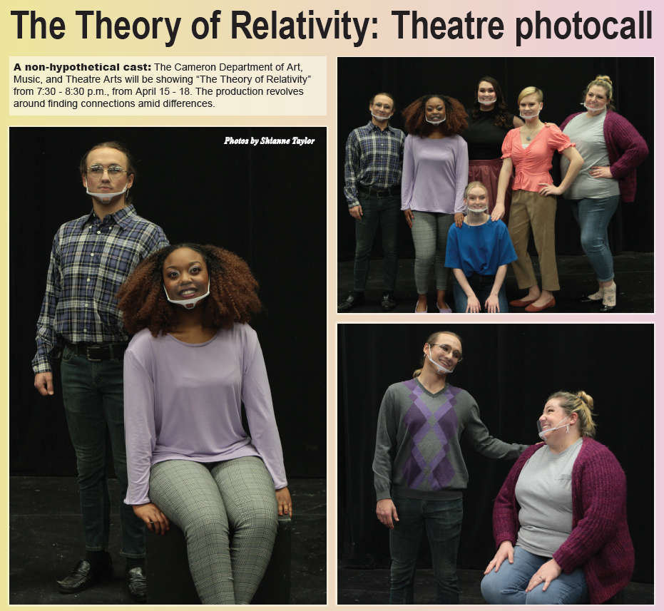 The Theory of Relativity: Theatre Photocall