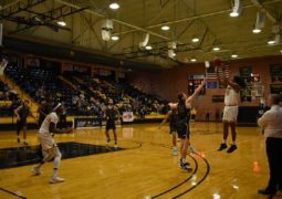 Men's Basketball Takes First Win