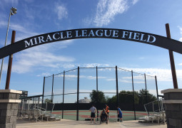 Volunteering with Miracle League