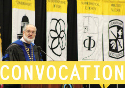 A celebration at Convocation