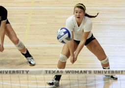 Aggies drop a give-set matchup to Texas Woman's