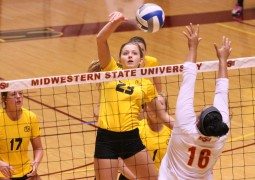 Cameron sweeps MSU, Gillean hits 17 kills in perfect game
