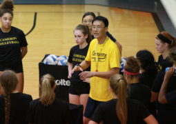 Volleyball Drops Home Openers