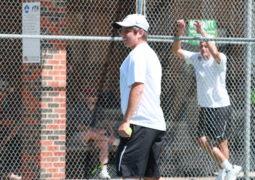 Tennis at MSU Invitational