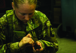Building Tactical Skills: Cadets Participate in Field Training Exercise