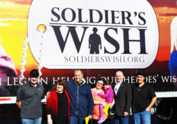 Cameron Students Granted with a Soldier's Wish