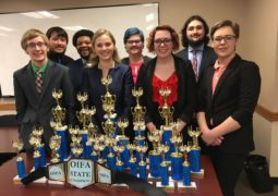 Forensics Team Clinches State Tourney