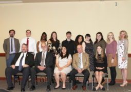 Sigma Tau Delta Awards, Inducts Members