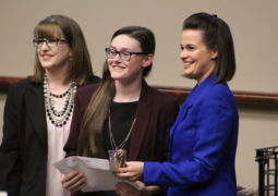 Delta Mu Delta Inducts Honorees