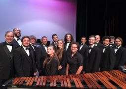 Cameron Percussion Performs Fall Concert