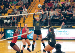 Volleyball Season Ends: Brook Conley Notches 17th Double-Double
