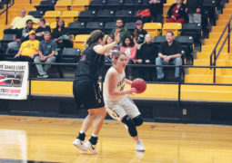 Aggie Women Win First Home Game