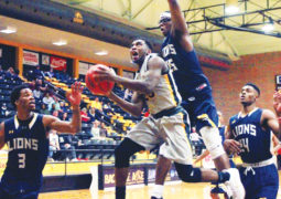 Aggie Men Fall to Lions in Heartbreaker