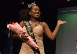 Competing for 2018 Miss Black CU