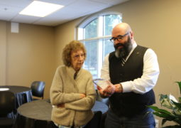 Long-Time Staff Member Retires After 30 Years
