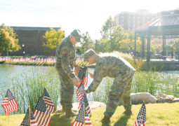 CU Student Services – Veterans Day Flag Placement