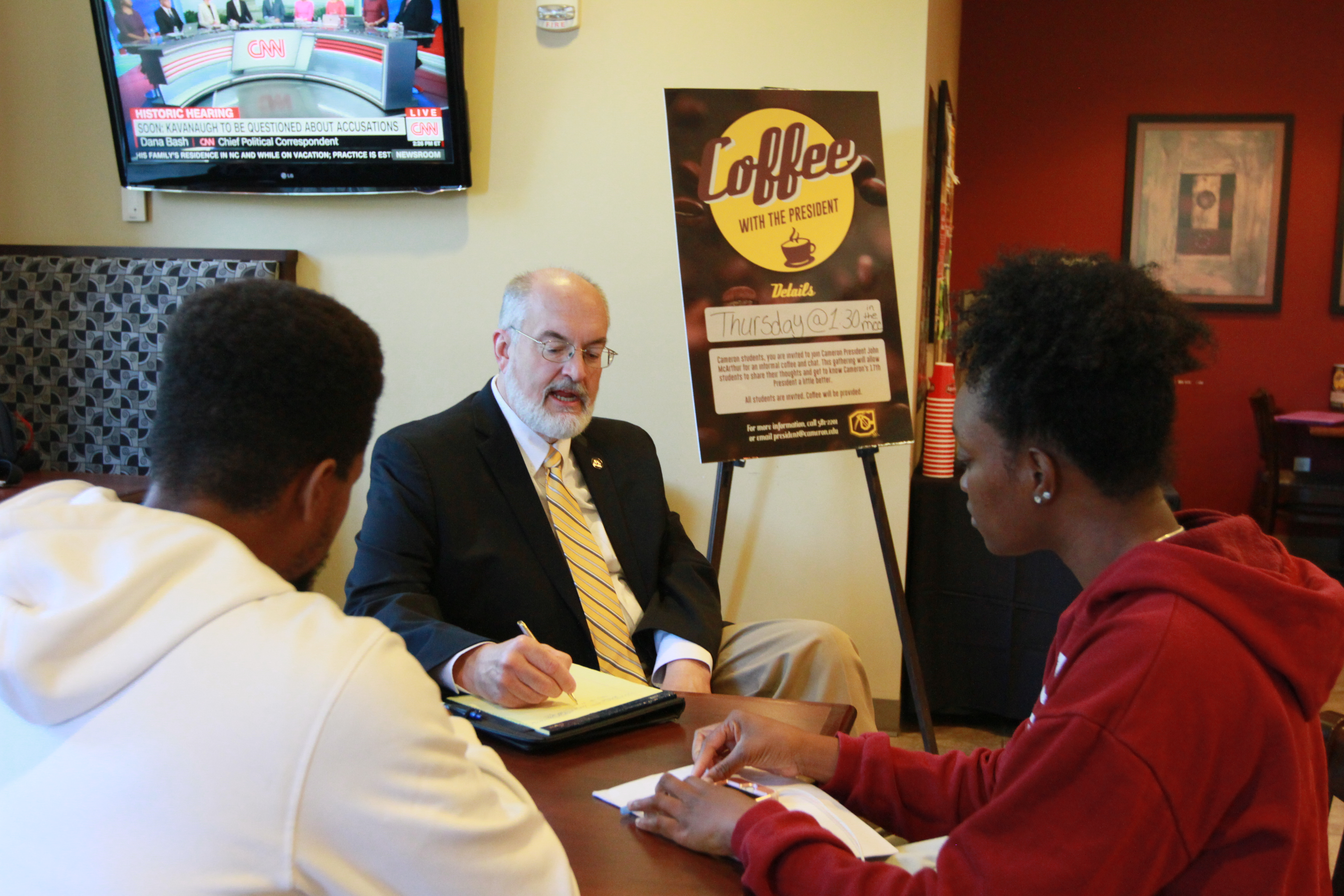 Coffee with the President: A Reflection of the Fall Semester
